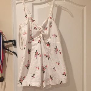 Floral romper from Forever 21